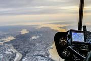 لحظه نفس گیر فرود هواپیما در فرودگاه مهرآباد از چشم خلبان / فیلم
