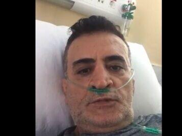 سرمربی تیم ملی کشتی در بیمارستان پس از ابتلا به کرونا / فیلم