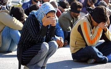 آمار معتادان متجاهر در سطح شهر تهران