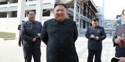 حضور بدن ماسک رهبر کره شمالی و همسرش در یک نمایش جنجالی شد / عکس