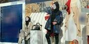 اقدامی عجیب در ویترین یک فروشگاه لباس در مشهد