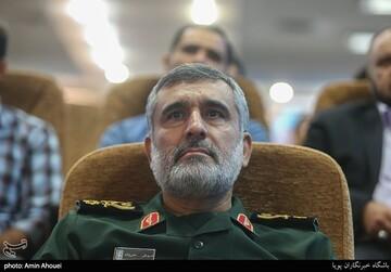 سردار حاجیزاده: انتقام خون سردار سلیمانی قطعی است