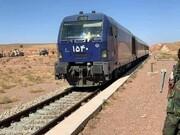 واژگونی قطار در مسیر راه آهن تاکستان به سمت رشت