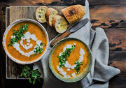 سوپ کدو حلوایی با شیر مناسب روزهای سرد پاییز + طرز تهیه