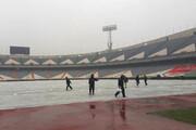 تمهیدات ورزشگاه آزادی برای بازی پرسپولیس - نفت آبادان