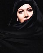 حجاب متفاوت فریبا نادری/ عکس