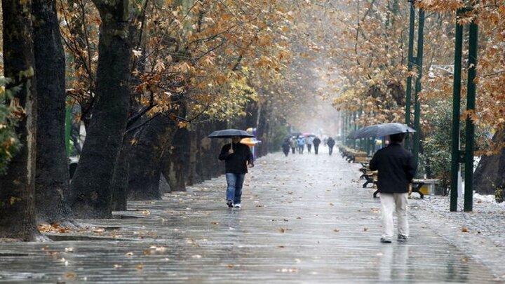 شلوغی متروی تهران به خاطر بارندگی