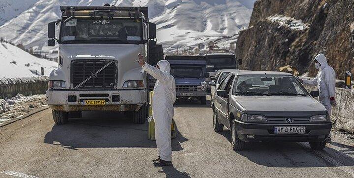 تمامی ورودیهای مازندران به روی خودروهای غیربومی مسدود شد