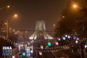 خیابان های تهران در نخستین شب محدودیتهای کرونایی / فیلم