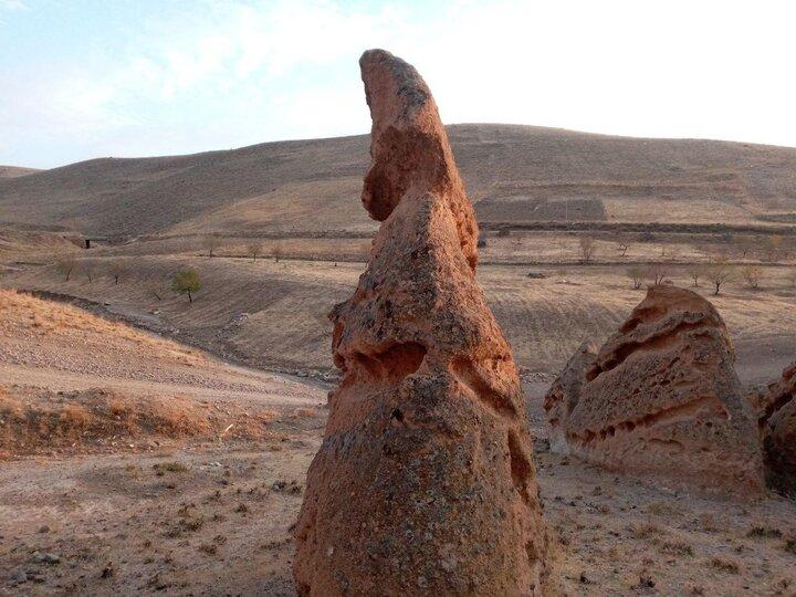 کوههای مریخی در تبریز! /عکسها