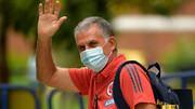 خداحافظی کیروش از تیم ملی کلمبیا