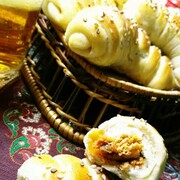 پیراشکی مرغ با قارچ خوشمزه + طرز تهیه