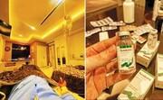 درمان بیماران کرونایی در یکی از بیمارستانهای لاکچری تهران /عکس