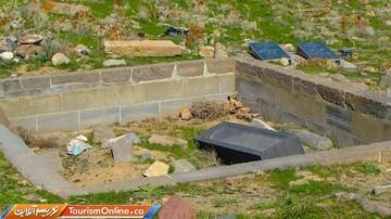 قبرستان شگفت انگیز و عجیب در تبریز / تصاویر