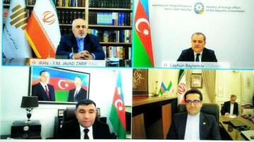 گفتگوی ظریف با وزیر خارجه جمهوری آذربایجان