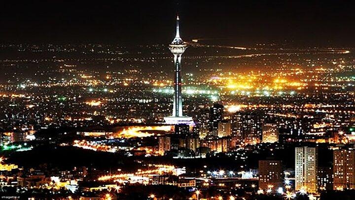 وضعیت تهران قبل و بعد از محدودیت تردد کرونایی / فیلم