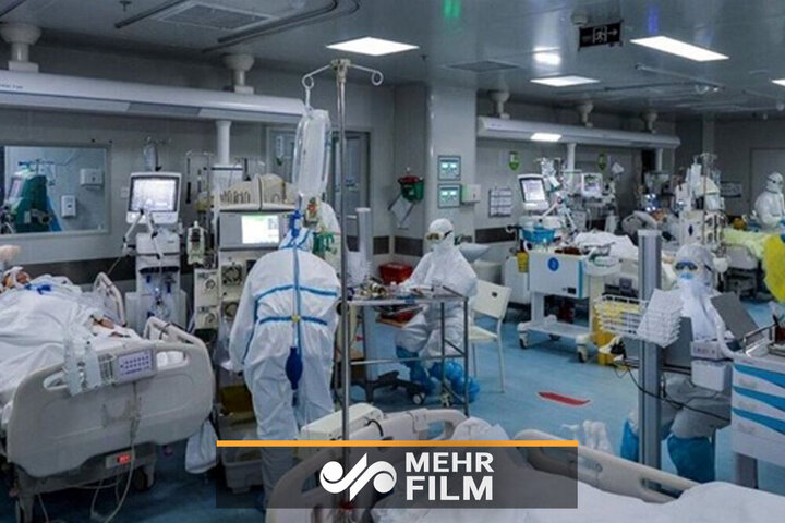 ویدئو غم انگیز از ICU بیمارستان شهدای تجریش / فیلم