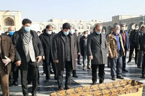 پیکر محمد خادم به خاک سپرده شد