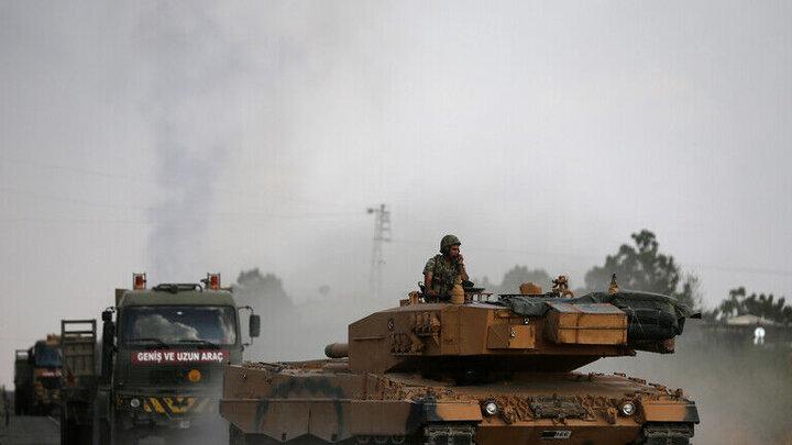 وقوع انفجار در محل استقرار نیروهای ترکیه در غرب ادلب