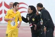 خوشحالی عجیب دیگو مارادونا پس از گلزنی یک ایرانی / فیلم