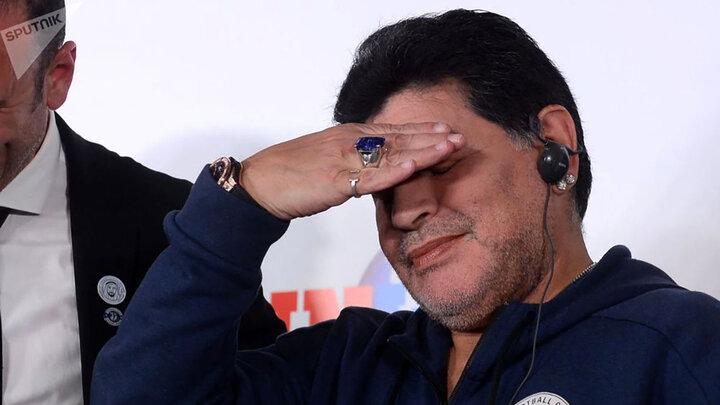تصاویر دیده نشده و جالب از دیگو مارادونا