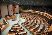 زد و خورد نمایندگان مجلس تایوان / فیلم