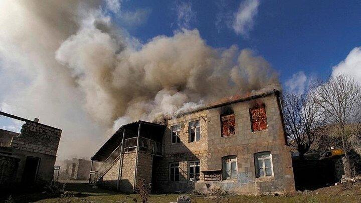 ارمنستان، آذربایجان را به نقض آتشبس متهم کرد