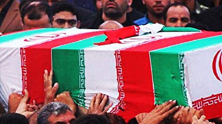 تصاویری از تشییع پیکر شهید محسن فخریزاده /فیلم