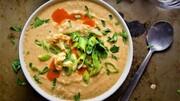 سوپ گل کلم خوشمزه برای روزهای سرد پاییز + طرز تهیه