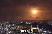 پرواز شی ناشناس نورانی در آسمان ژاپن /فیلم