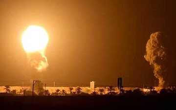 شلیک راکت به پالایشگاه نفت در عراق