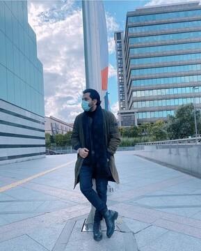 خواننده معروف ایرانی در استانبول / عکس