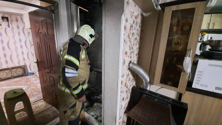 جزئیات آتش سوزی در شهرک رازی