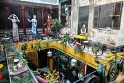 عجیبترین کافه دنیا در ویتنام/تصاویر