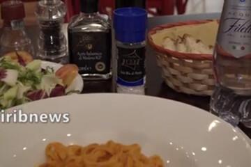 نمک ایرانی چاشنی اصلی غذاهای ایتالیاییها /فیلم