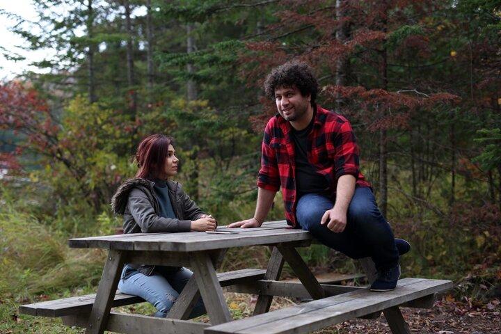 خانم بازیگر در کانادا فیلم ساخت