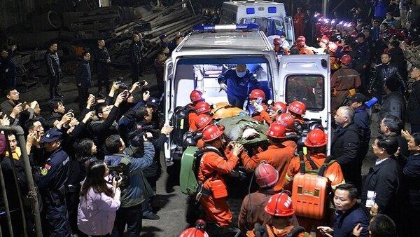 ۱۸ کارگر معدن در چین کشته شدند