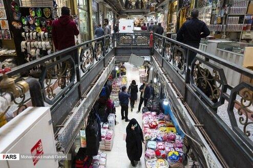 تصاویری از بازار تهران پس از دو هفته قرنطینه