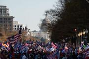 درگیری ادامه دار طرفداران و مخالفان ترامپ در واشنگتن