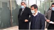 شهردار تهران به محل تمرین پرسپولیس رفت