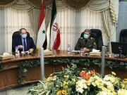 تاکید وزیر دفاع بر عزم ایران در همکاری برای بازسازی سوریه