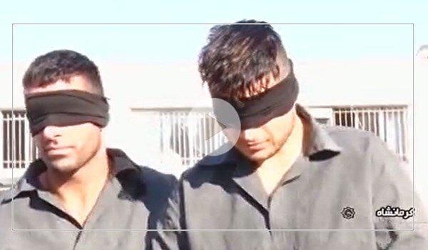 زورگیران کرمانشاهی بازداشت شدند / فیلم