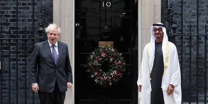 حمایت نخستوزیر انگلیس و ولیعهد ابوظبی از عادیسازی روابط اعراب و اسراییل
