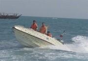توقف یک فروند شناور حامل ۳۰۰ کیلوگرم تریاک در قشم