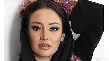 ژست عجیب و عصبانی بهاره افشاری / عکس