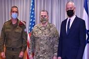 گفتگوی وزیر جنگ رژیم صهیونیستی و رئیس ستاد مشترک ارتش آمریکا پیرامون ایران