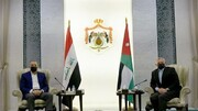 دیدار الکاظمی با پادشاه اردن