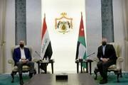 دیدار نخستوزیر عراق با پادشاه اردن