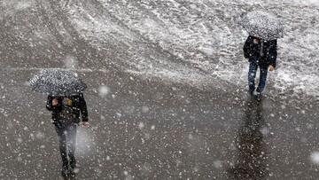 وضعیت آب و هوا در ۶ دی ۹۹/ کدام مناطق برفی و بارانی میشود؟