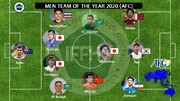 قرار گرفتن نام سردار آزمون در تیم منتخب آسیا ۲۰۲۰